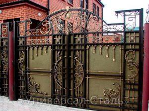 Кованые ворота V-021