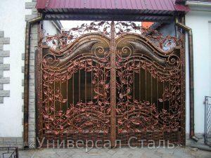 Кованые ворота V-023