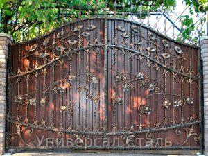 Кованые ворота V-032