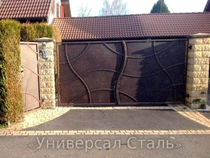 Кованые ворота V-037