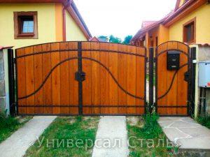 Кованые ворота V-040