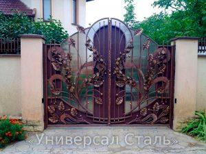 Кованые ворота V-070