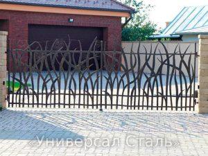 Кованые ворота V-072