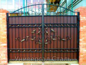 Кованые ворота V-079