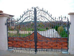 Кованые ворота V-111
