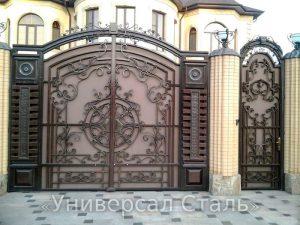 Кованые ворота V-145