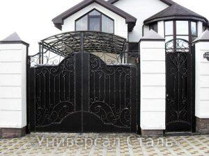 Кованые ворота V-146