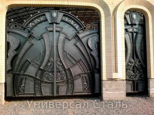 Кованые ворота V-147