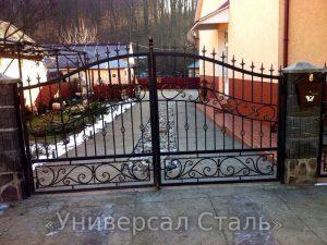 Кованые ворота V-160