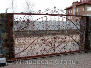 Кованые ворота V-168