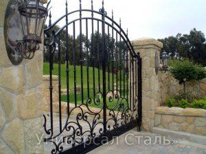 Кованые ворота V-190