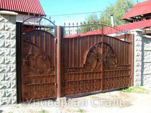 Кованые ворота V-194