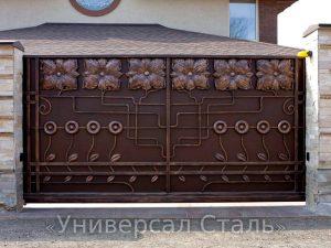 Кованые ворота V-195