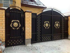 Кованые ворота V-196