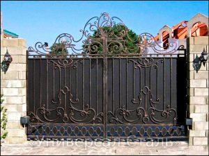 Кованые ворота V-199