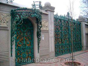 Кованые ворота V-200