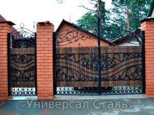 Кованые ворота V-203