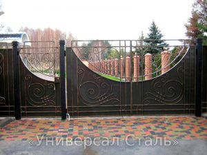 Кованые ворота V-206