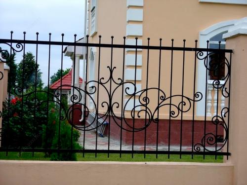 Кованый забор Z-106 — фото