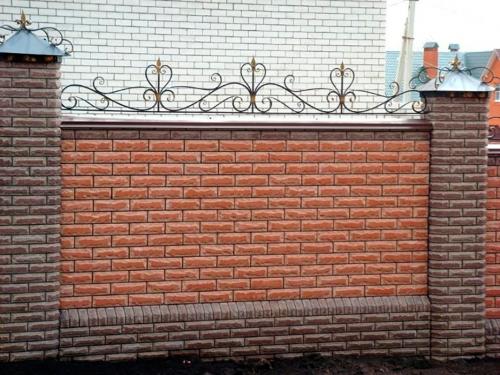 Кованый забор Z-123 — фото
