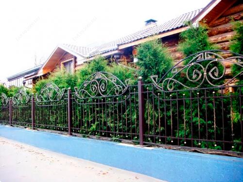 Кованый забор Z-026 — фото