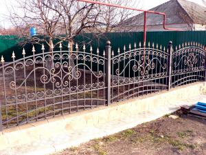 Кованый забор Z-046