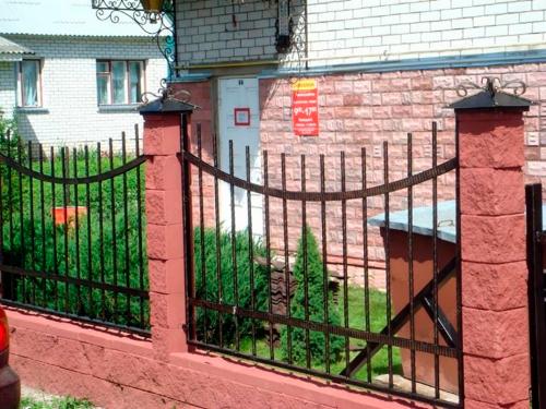 Кованый забор Z-058 — фото