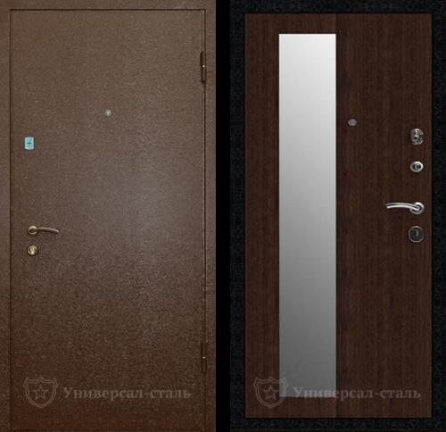 ? Входная дверь КВ231 (Порошковое напыление+МДФ шпон) по цене от 23500 ₽