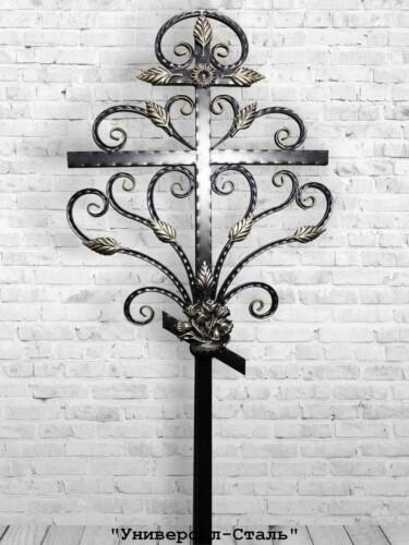 Кованый крест №1 — фото