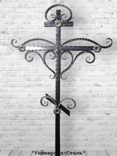 Кованый крест №10 — фото