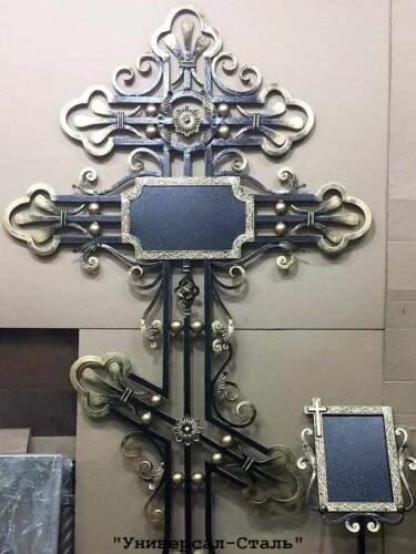 Кованый крест №12 — фото