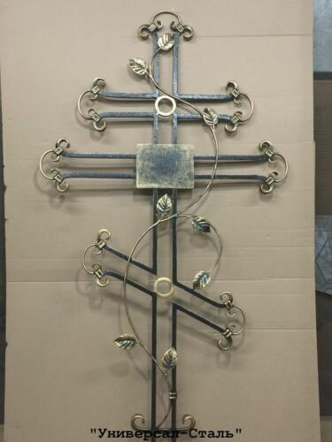 Кованый крест №13 — фото