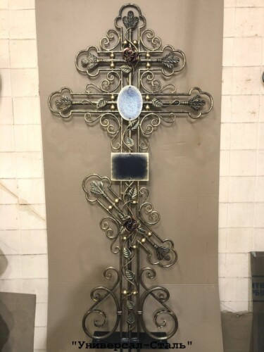 Кованый крест №14 — фото