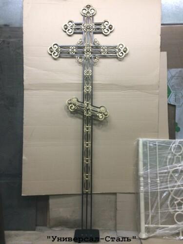 Кованый крест №15 — фото