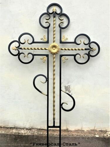 Кованый крест №17 — фото