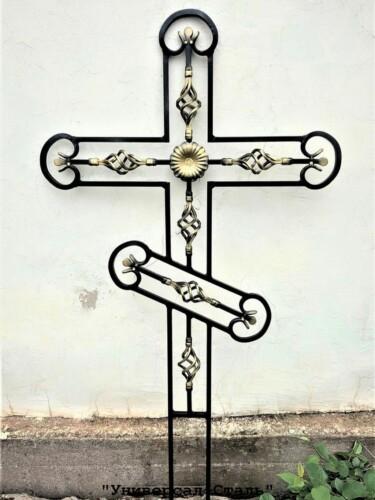 Кованый крест №18 — фото