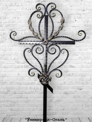 Кованый крест №2 — фото