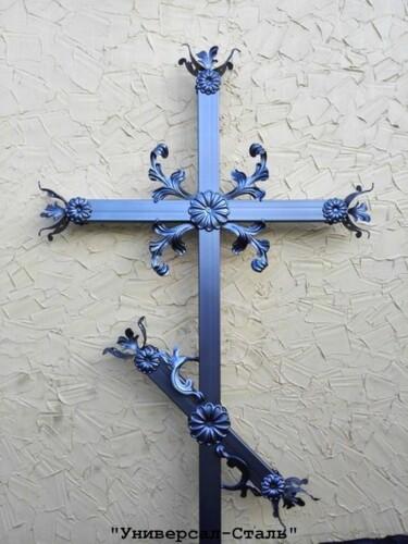 Кованый крест №20 — фото