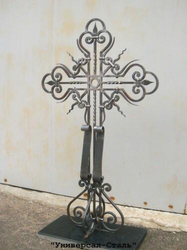 Кованый крест №22 — фото