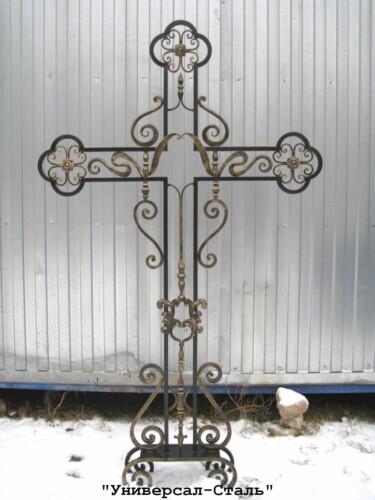 Кованый крест №23 — фото
