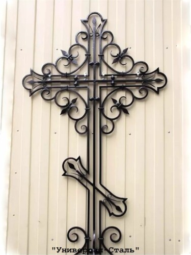 Кованый крест №24 — фото