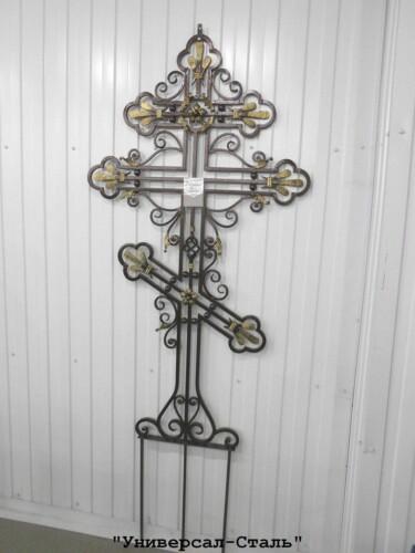 Кованый крест №26 — фото