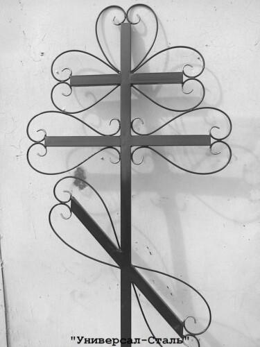 Кованый крест №28 — фото