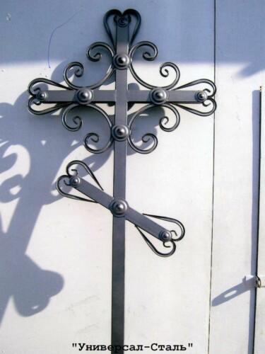 Кованый крест №29 — фото