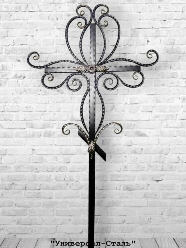 Кованый крест №3 — фото