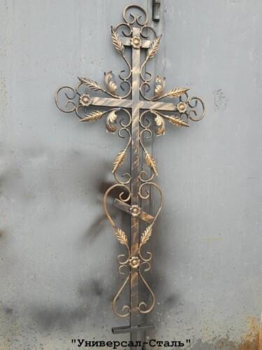 Кованый крест №31 — фото