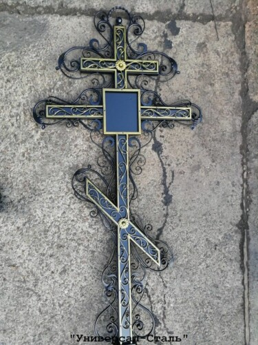 Кованый крест №32 — фото