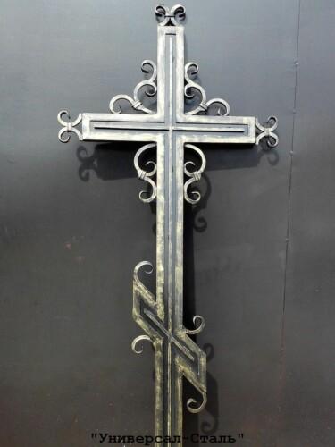 Кованый крест №33 — фото