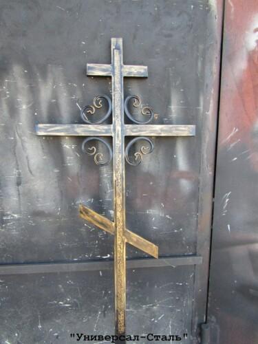 Кованый крест №34 — фото