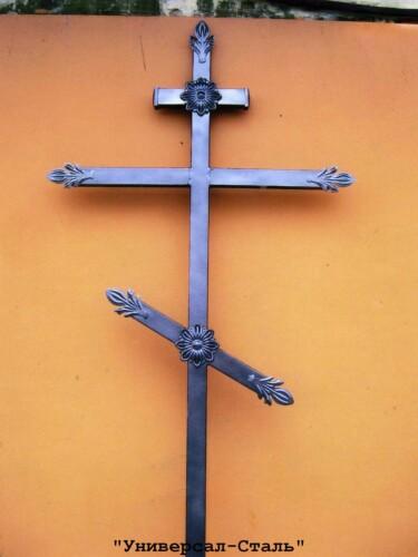 Кованый крест №36 — фото